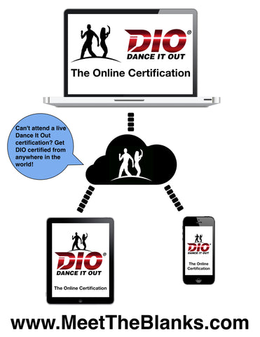 DIO ® Online Certification | Dance It Out (DIO) ®