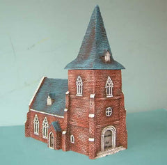 HOV13B5 European Church with detachable spire