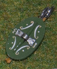 X49 Thracian Shield with Javelins