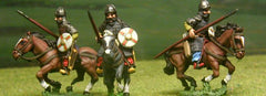 AAS6 Asiatic Hordes: Khazar in Lamellar armour & helm with Lance & Bow
