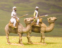 ABR16H Arab: Musicians for mounting on Camels - one drummer, one trumpeter per pack (CM1 recommended)