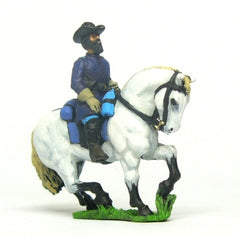 ACWX5 Character: Cavalry or Infantry Mounted Officer in Frock Coat, head variants