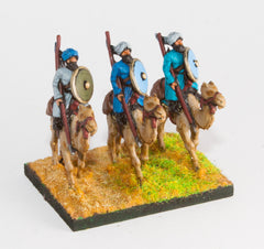 AEA8 Arab: Camel rider with lance & shield