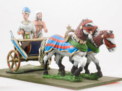 AEG12 Egyptian: Chariot with Pharoah & Driver