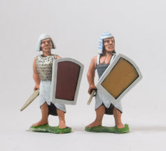 AEG1b Egyptian: Lesser Officer with Shield, Spear and Short Sword