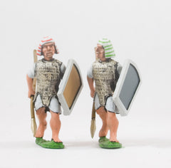 AEG9 Egyptian: Heavy Infantry with Spear & Shield, head variants