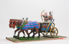 AEG11 Egyptian: Chariot with Archer and Driver