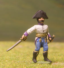 AHN14 Austrian-Hungarian 1804-12: Line Infantry: Officer in Bicorne