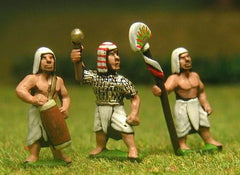 ANK10 New Kingdom Egyptian: Command: Officers, Standard bearers & drummers