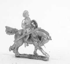 ANK18 Later New Kingdom Egyptian: Light horsemen with javelin