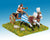 ANK2 New Kingdom Egyptian: General & driver in two horse chariot