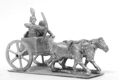 ANK31 Kushite Egyptian: 2 Horse chariot with archer and driver