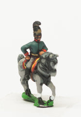 AST28 Austrian: Command: Mounted Infantry Officers in Helmets