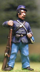 UN1 Union Infantry: At ease, in Kepi & Sack Coat (assorted)