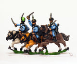 AUO17 Austrian Army 1861-66: Cavalry: Hussars wearing Kutsma (fur cap with bag)