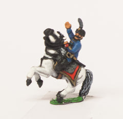 AUO18 Austrian Army 1861-66: Cavalry: Hussar Officers in Kutsma