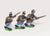 AUO1 Austrian Army 1861-66: Infantry: Hungarian Line Infantry, advancing, assorted poses