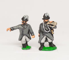 AUO7 Austrian Army 1861-66: Infantry Command: Feld-Jagers, Officers & Trumpeters