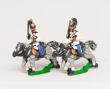 AUO8 Austrian Army 1861-66: Cavalry: Cuirassiers, assorted