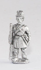 BG106 Union or Confederate: Infantry in Frock Coat & Kepi: At attention