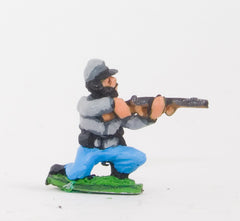BG11 Union or Confederate: Infantry in Kepi & Shell Jacket, with no Equipment: Kneeling & Firing