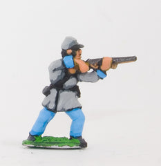 BG13 Union or Confederate: Infantry in Kepi & Frock Coat, firing