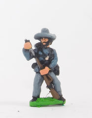 BG21 Union or Confederate: Infantry in Slouch Hat & Tunic with full pack and equipment:Loading