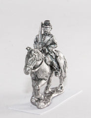 BG50 Union or Confederate: Trooper in Kepi with shouldered sword on walking horses