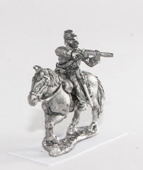 BG52 Union or Confederate: Trooper in Kepi, firing carbine to the side