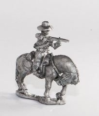 BG55 Union or Confederate: Trooper in Slouch Hat firing carbine forward