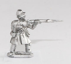 BG82 Union or Confederate: Infantry in Overcoats: Firing in Kepi