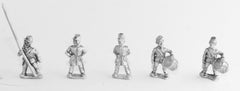 BG93 Union or Confederate: Command: Officers, Standard Bearers & Drummers in Kepi