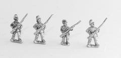 BG94 Union or Confederate Infantry: Fixed bayonets with Musket forward