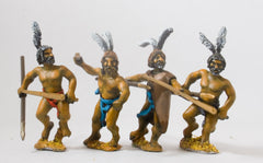 BIB15 Libyan: Warband Javelinmen with Large Sword. Assorted poses & heads