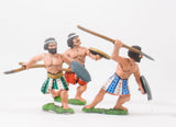 BIB1 Canaanite: Javelinmen, assorted poses