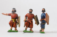 BIB4 Syrian: Javelinmen, assorted poses