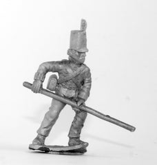 BN15Foot Artilleryman: with hand lever