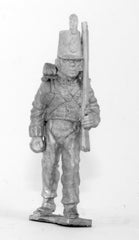 BN2 Line Infantry: advancing with shouldered Musket