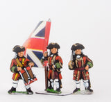 BRO10 European Armies: Guard Infantry: Command: Officer, Standard Bearer & Drummer