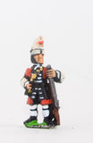 BRO15 European Armies: Grenadier in Mitre Cap: At ease (English Foot Guards)