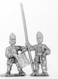 BRO22 European Armies: Command: Grenadier Officer, Standard Bearer & Drummer in Low Mitre Cap (Bradenburg, Bavaria, Prussia)