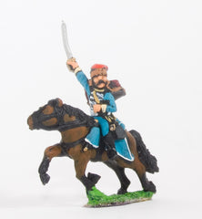 BRO32 European Armies: Hussar with pelisse, charging (All Nationalities)