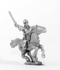 BRO36 European Armies: Command: Cuirassier Officer, Standard Bearer in Pot Helmet and Trumpeter in Tricorne