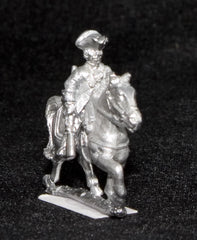 BRO46 European Armies: Line Cavalry in Tricorne: Plain Uniform with coat open