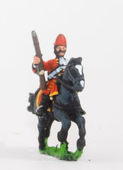 BRO54 European Armies: Mounted Grenadier, Mitre with falling bag (English)