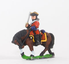 BRO57 European Armies: Dragoons in Tricorne with drawn Sword
