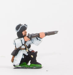 BRO60 European Armies: Dismounted Dragoon in Tricorne, kneeling, firing