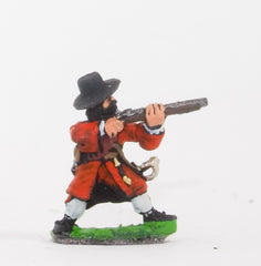 BRO66 European Armies: Musketeers in Long Coat & Wide Brim Hat with Apostles: Firing
