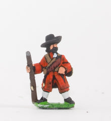 BRO67 European Armies: Musketeers in Long Coat & Wide Brim Hat with Apostles: At ease
