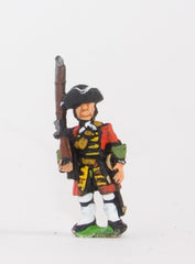 BRO6 European Armies: Guard Infantry in Tricorne & Gaiters: Shouldered musket (All Nationalities)